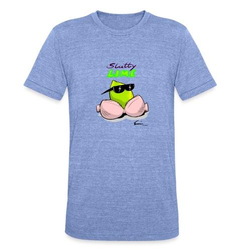 Slutty Lime - Unisex tri-blend T-shirt fra Bella + Canvas