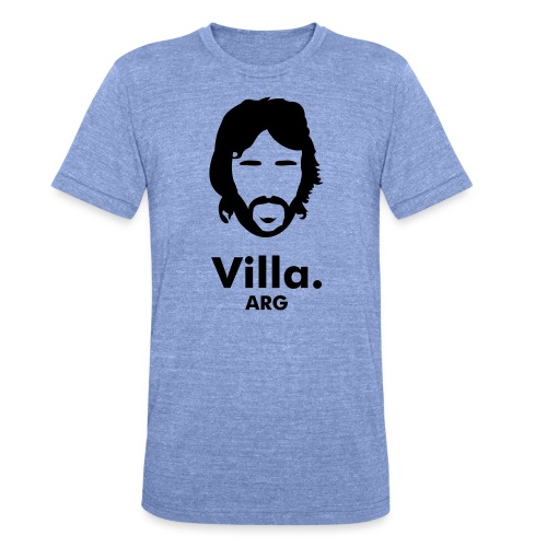 Villa - Unisex Tri-Blend T-Shirt by Bella & Canvas
