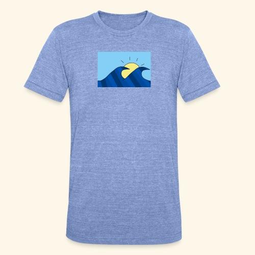 Espoir double wave - Unisex Tri-Blend T-Shirt by Bella & Canvas
