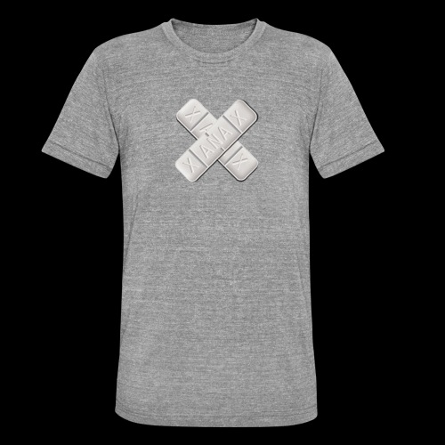 Xanax X Logo - Unisex Tri-Blend T-Shirt von Bella + Canvas