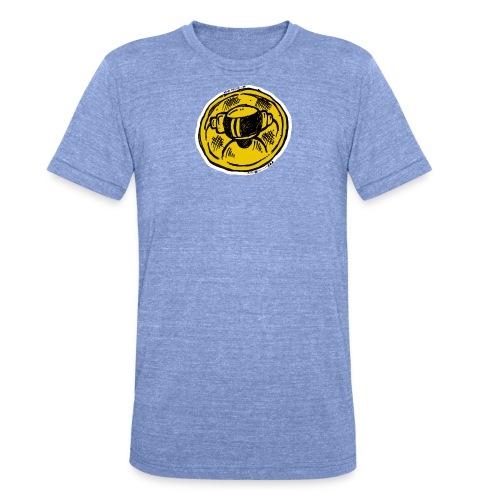 Machine Boy Ruff Yellow - Unisex Tri-Blend T-Shirt by Bella + Canvas