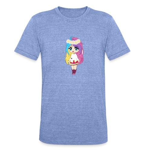 fille kawaii - T-shirt chiné Bella + Canvas Unisexe
