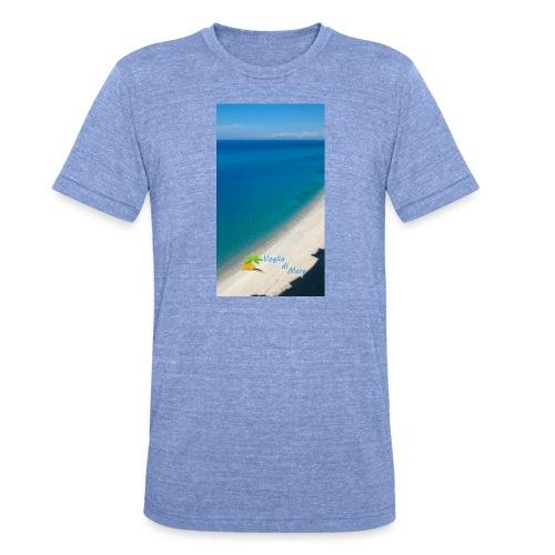 Tropea mare - Maglietta unisex tri-blend di Bella + Canvas