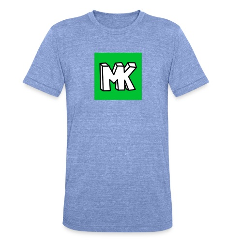 MK - Unisex tri-blend T-shirt van Bella + Canvas