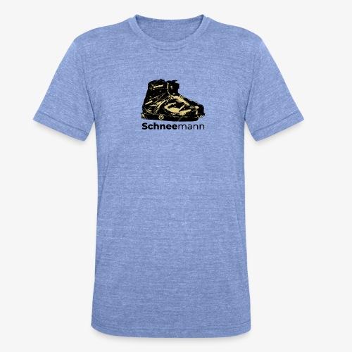 Schneemann - Unisex Tri-Blend T-Shirt von Bella + Canvas
