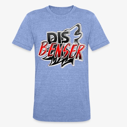 Le DisBenser - Bella + Canvasin unisex Tri-Blend t-paita.