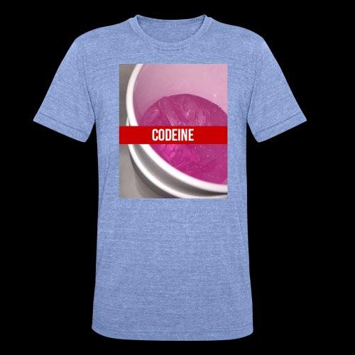 CODEINE STREETWEAR - Maglietta unisex tri-blend di Bella + Canvas