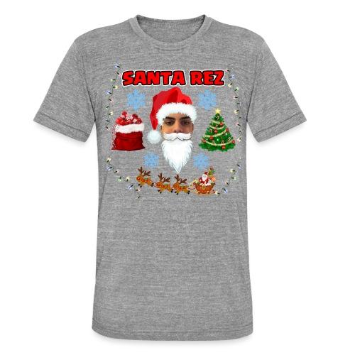 Santa Rez - Bella + Canvasin unisex Tri-Blend t-paita.