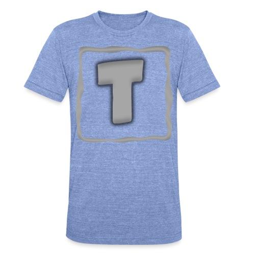 Logo Tuber - Unisex Tri-Blend T-Shirt von Bella + Canvas