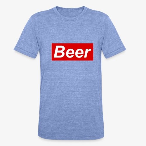 Beer. Red limited edition - Unisex tri-blend T-shirt van Bella + Canvas