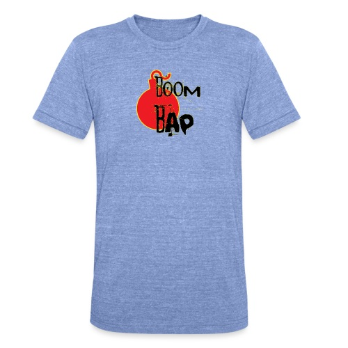 Boom Bap - Unisex Tri-Blend T-Shirt by Bella & Canvas