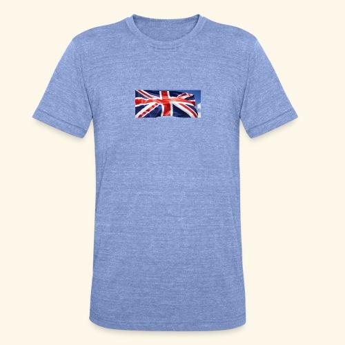 UK flag - Unisex Tri-Blend T-Shirt by Bella & Canvas