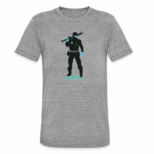 Nuestros Heroes - Camiseta Tri-Blend unisex de Bella + Canvas