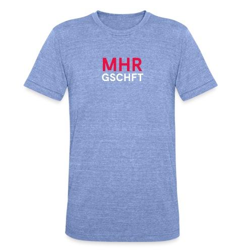 MHR GSCHFT - Unisex Tri-Blend T-Shirt von Bella + Canvas