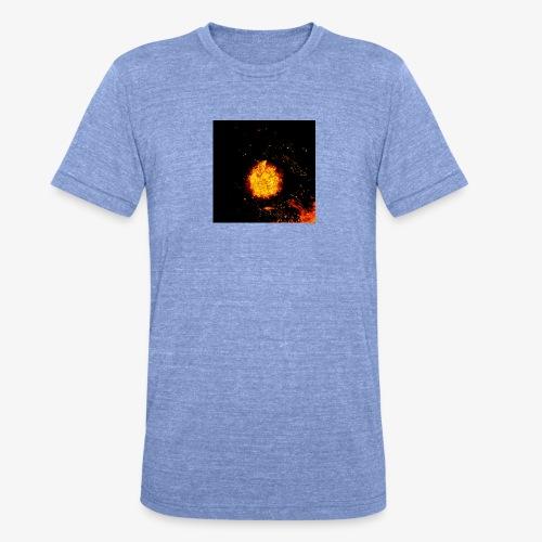 FIRE BEAST - Unisex tri-blend T-shirt van Bella + Canvas