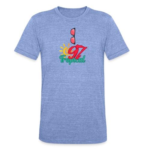 A01 4 - T-shirt chiné Bella + Canvas Unisexe