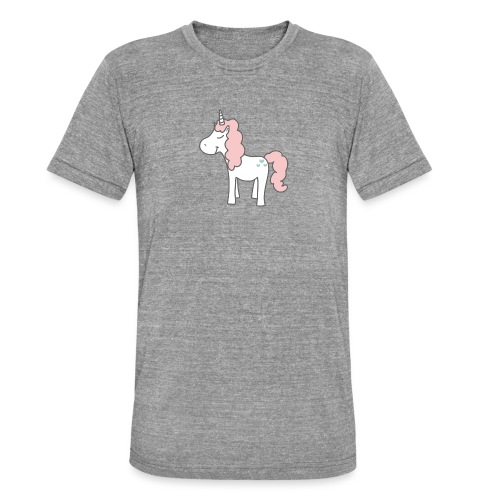 unicorn as we all want them - Unisex tri-blend T-shirt fra Bella + Canvas