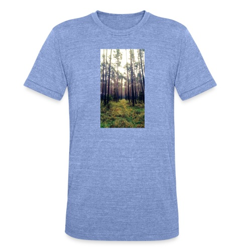 Las we mgle - Koszulka Bella + Canvas triblend – typu unisex