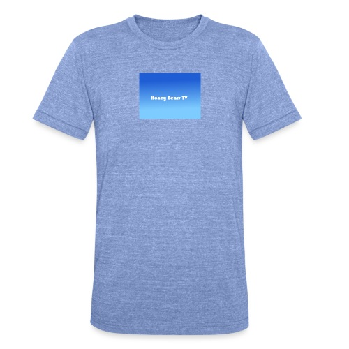 Honey Bears TV Merch - Unisex Tri-Blend T-Shirt by Bella + Canvas