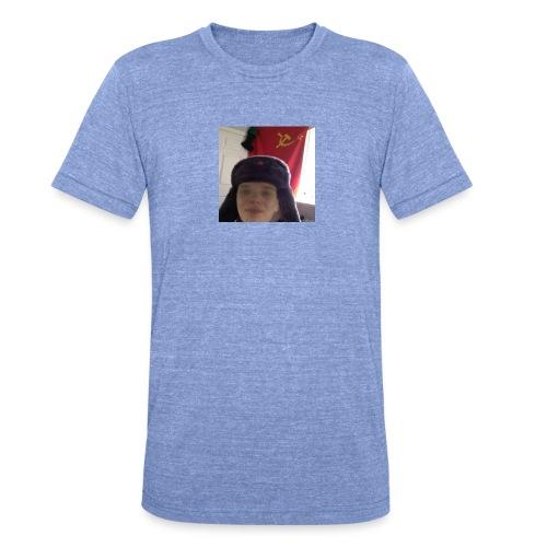 Kommunisti Saska - Bella + Canvasin unisex Tri-Blend t-paita.