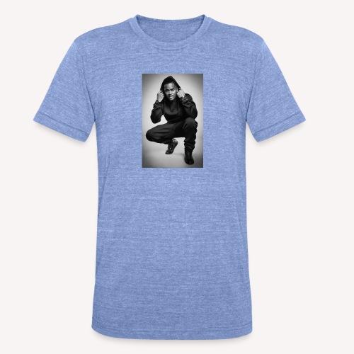 Black M - T-shirt chiné Bella + Canvas Unisexe