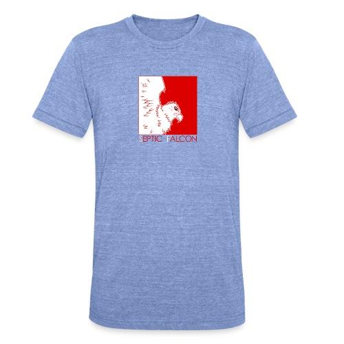 Falcon2 - Unisex Tri-Blend T-Shirt by Bella & Canvas