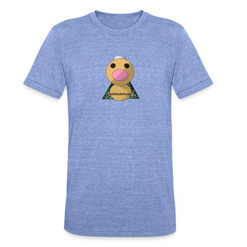 HetWeedleKanaal shirt MAAT S/M/L/XL/XXL - Unisex tri-blend T-shirt van Bella + Canvas