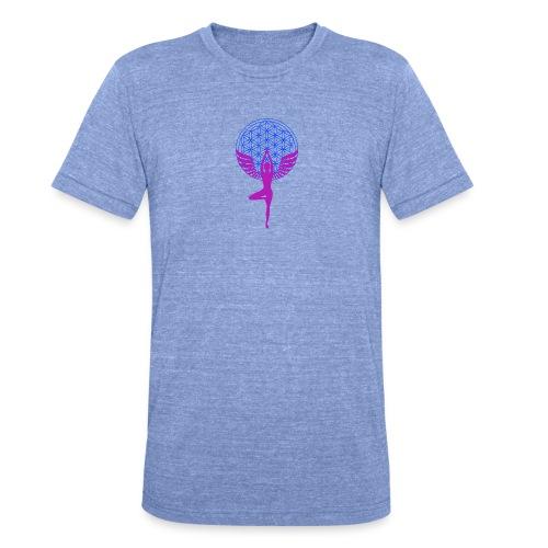 fleur de vie yoga n°1 - T-shirt chiné Bella + Canvas Unisexe
