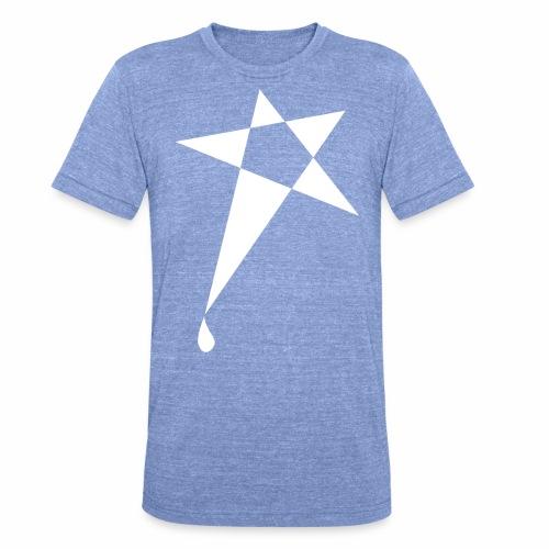 SWEATY STAR® Skateboarding Spread - T-shirt chiné Bella + Canvas Unisexe