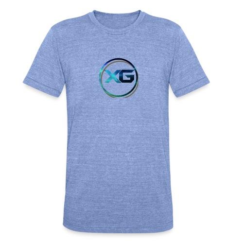 XG T-shirt - Unisex tri-blend T-shirt van Bella + Canvas