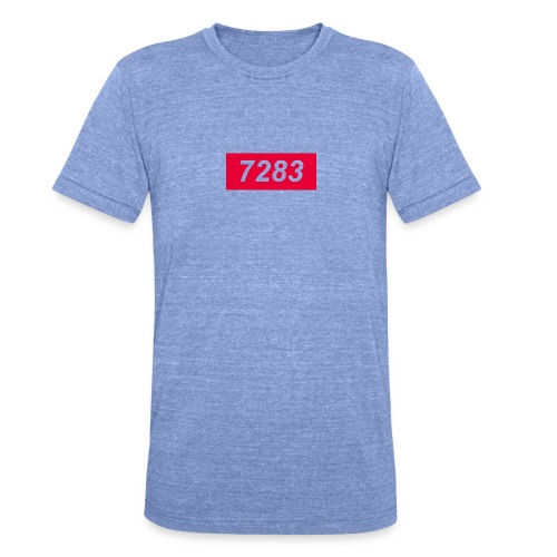 7283-Red - Unisex Tri-Blend T-Shirt by Bella & Canvas