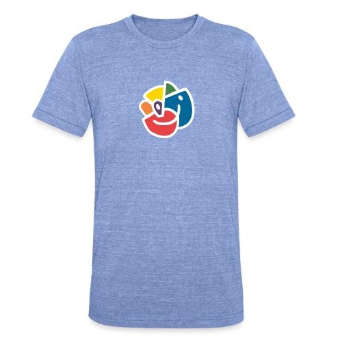 Mångfaldsros - Triblend-T-shirt unisex från Bella + Canvas