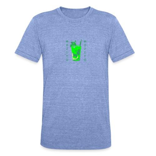 Mojito bicchiere colorato - Maglietta unisex tri-blend di Bella + Canvas