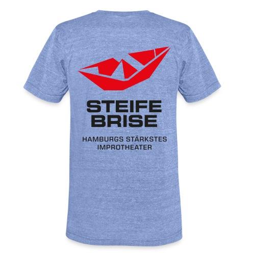 Brise Logo - Unisex Tri-Blend T-Shirt von Bella + Canvas