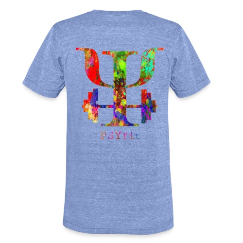 Watercolour splatter - Unisex Tri-Blend T-Shirt by Bella & Canvas
