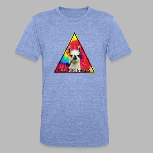 Illumilama logo T-shirt - Unisex Tri-Blend T-Shirt by Bella + Canvas