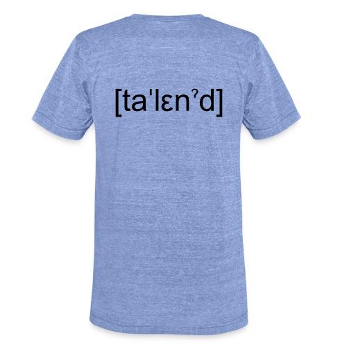 Talent - Unisex tri-blend T-shirt fra Bella + Canvas