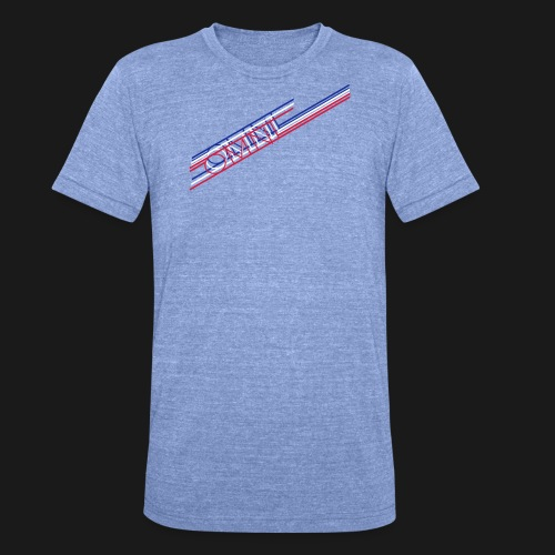 Tour Edition Long Shirt - Unisex Tri-Blend T-Shirt von Bella + Canvas