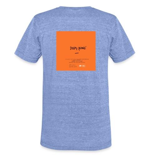 Cover Back delta. plane - T-shirt chiné Bella + Canvas Unisexe