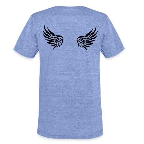 Nicht alle Engel werden als solche geboren! - Unisex Tri-Blend T-Shirt von Bella + Canvas