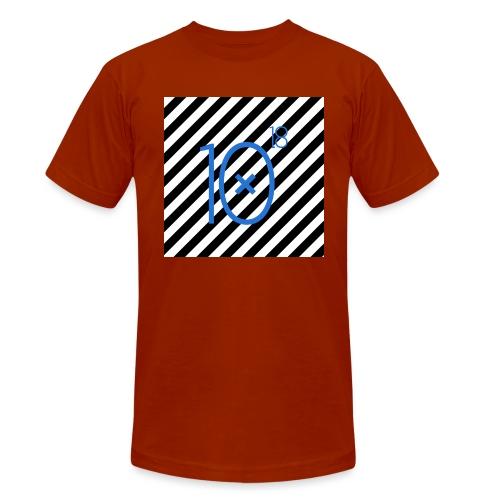 Stripes Tee - Koszulka Bella + Canvas triblend – typu unisex