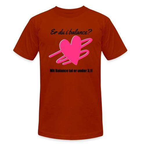 I Balance Design - Unisex tri-blend T-shirt fra Bella + Canvas