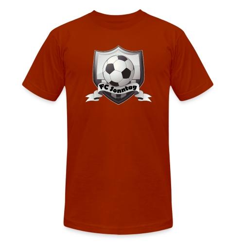FC Sonntag Logo - Unisex Tri-Blend T-Shirt von Bella + Canvas