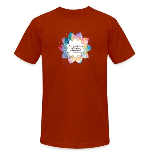 Citation de Nelson Mandela - T-shirt chiné Bella + Canvas Unisexe