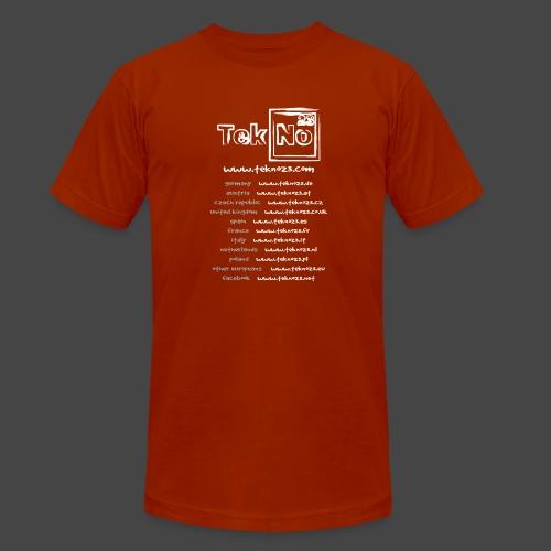 tekno23 - T-shirt chiné Bella + Canvas Unisexe