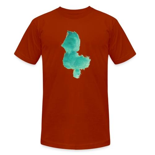grünes Küken - Unisex Tri-Blend T-Shirt von Bella + Canvas