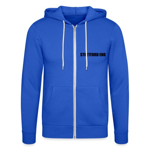Stretford End - Unisex Hooded Jacket by Bella + Canvas