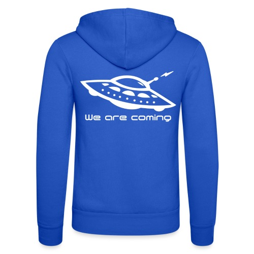 We Are Coming - Unisex Hooded Jacket by Bella + Canvas