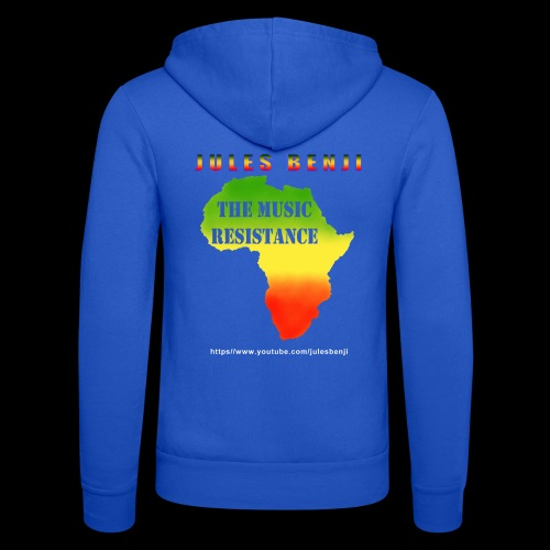 JULES BENJI & MUSIC RESISTANCE africa design - Unisex Hooded Jacket by Bella + Canvas