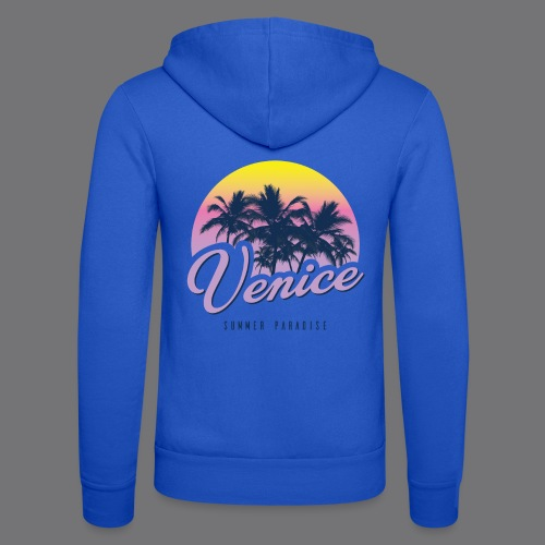VENICE Tee Shirt - Unisex Hooded Jacket by Bella + Canvas